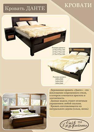 "Двуспальная кровать ""Данте"" 1600х2000, фото 2"
