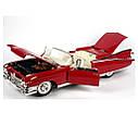 Автомодель (1:18) Cadillac Eldorado Biarritz (1959 красный                                          , фото 3