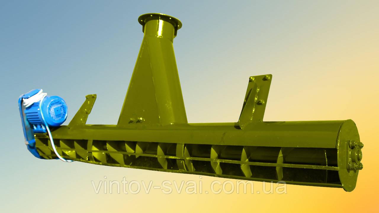 Шнековый подборщик под 219 трубу шириной 2 м