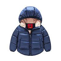 Синяя демисезонная куртка для мальчика весна-осень