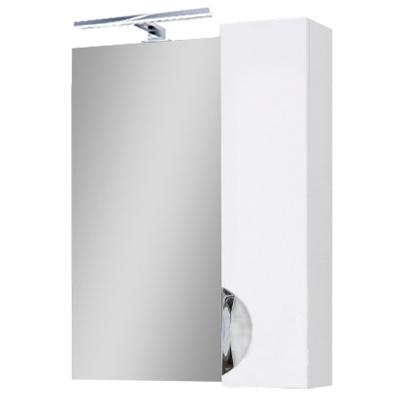 Зеркало для ванной комнаты Оскар Z-1 60 правое (с подсветкой) Юввис