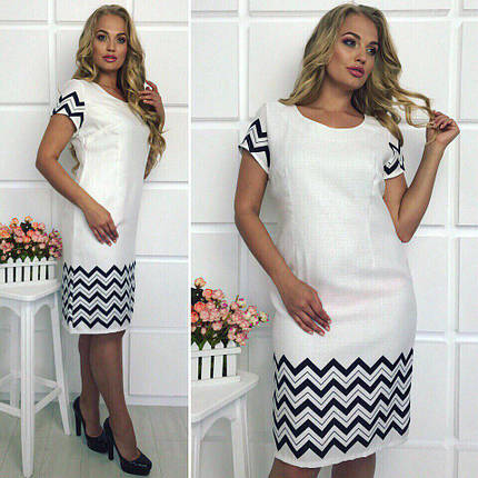 А1720\1 Нарядное платье короткие рукава  р 50-56, фото 2