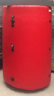 Аккумулирующий бак, буферная емкость на 1500 литров в утеплителе, со змеевиком, с качественными полусферами, фото 1