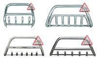 Передняя защита кенгурятник Toyota Land Cruiser Prado 120 2002-2009