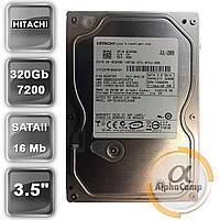 "Жесткий диск 3.5"" 320Gb Hitachi HDT721032SLA360 (16Mb/7200/SATAII) БУ"