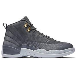 Air Jordan 12 Dark Grey (топ реплика)