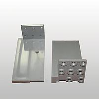 Комплект порогового соединителя универсального 70-80 мм (левый+правый)