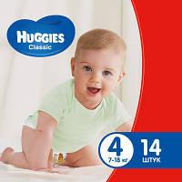 Подгузник Huggies Classic 4 Small 14 шт (5029053543123)