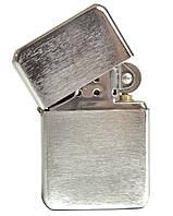 Зажигалка бензиновая, крацованный металл