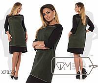 Стильное платье в деловом стиле с 48 по 56 размер