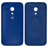 Задняя крышка батареи для мобильных телефонов Motorola XT1032 Moto G, XT1033 Moto G, XT1036 Moto G, синяя