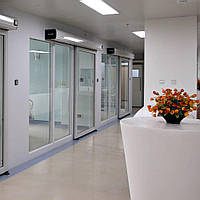 ActivaII (Manusa) комплект автоматичних дверей: автоматика, стулки, радари, фотоелементи, фото 1