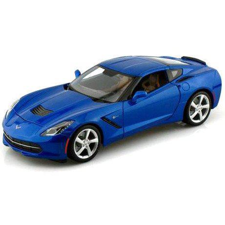Автомодель (1:18) 2014 Corvette Stingray синий