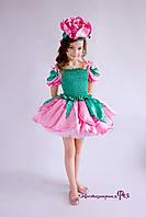Роза, карнавальный костюм цветочка (арт. №44/8)