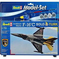 Сборная модель Revell Многоцелевой истребитель F-16 C Solo Turk 1:72 (64844)