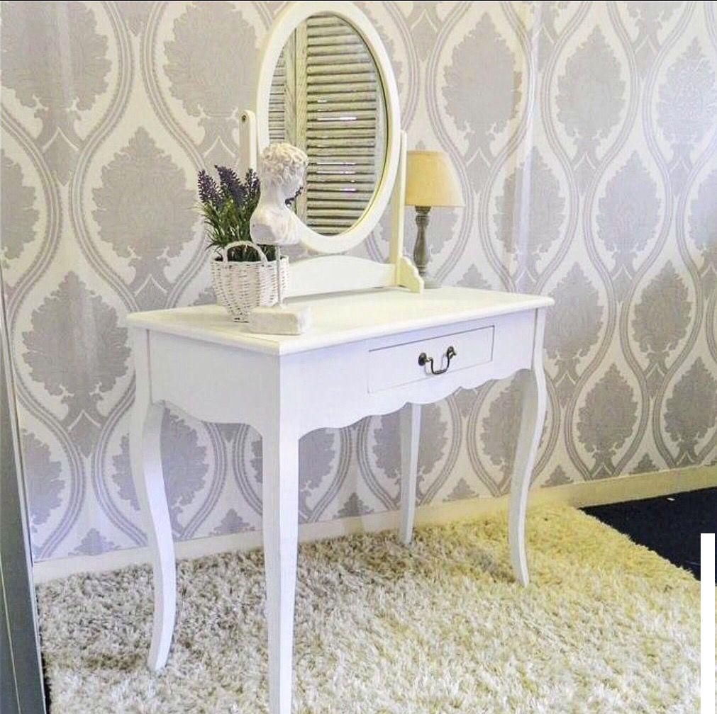 """Туалетний столик з дзеркалом """"Аліса"""" з натурального дерева"""