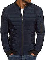 Куртка мужская демисезонная весенняя осенняя синяя