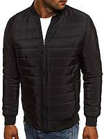 Куртка мужская демисезонная весенняя осенняя черная