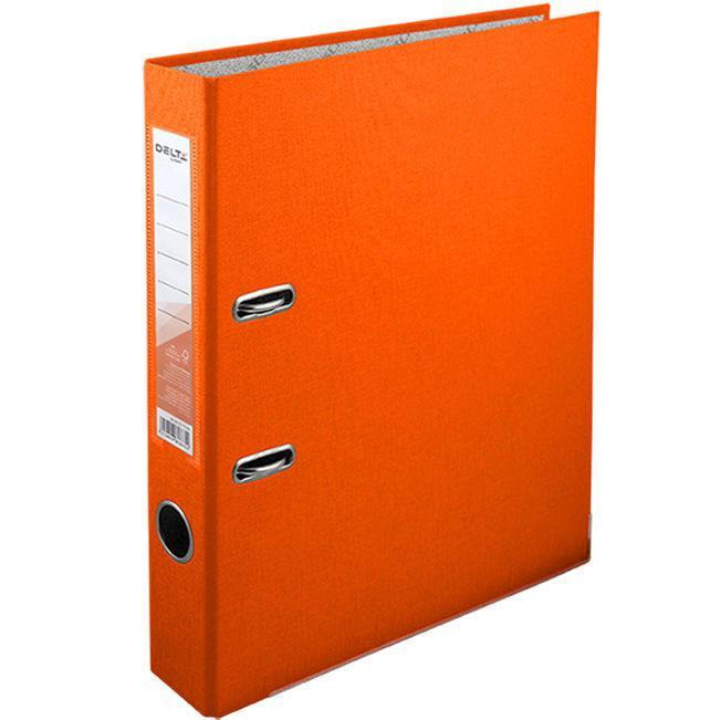 Папка регистратор А4 5см Delta D1713*_Оранжевый