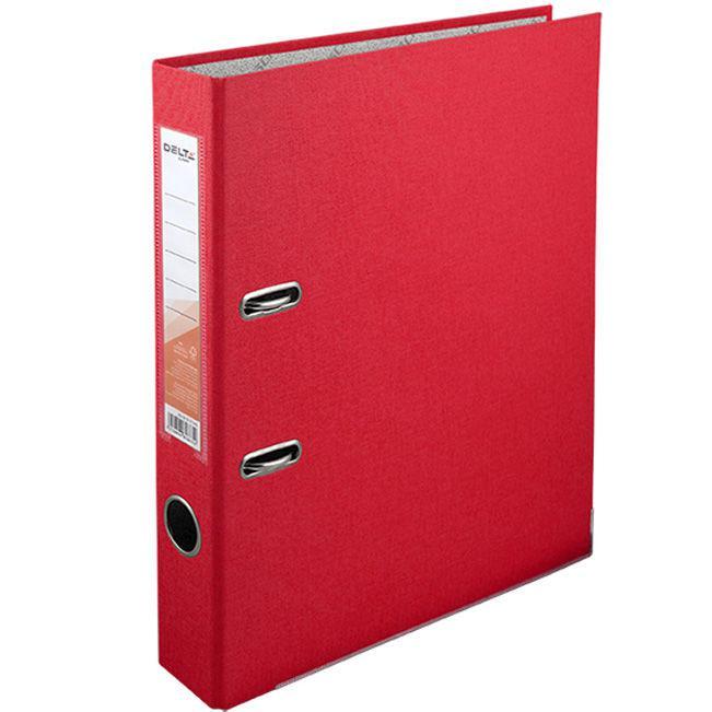 Папка регистратор А4 5см Delta D1713*_Красный