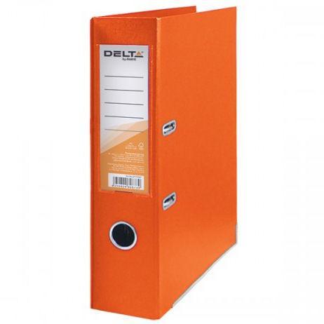 Папка регистратор А4 7,5см Delta D1714*_Оранжевый