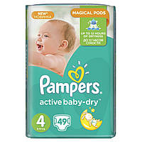 Подгузник Pampers Active Baby-Dry Maxi (7-14 кг), 49шт (4015400735670)
