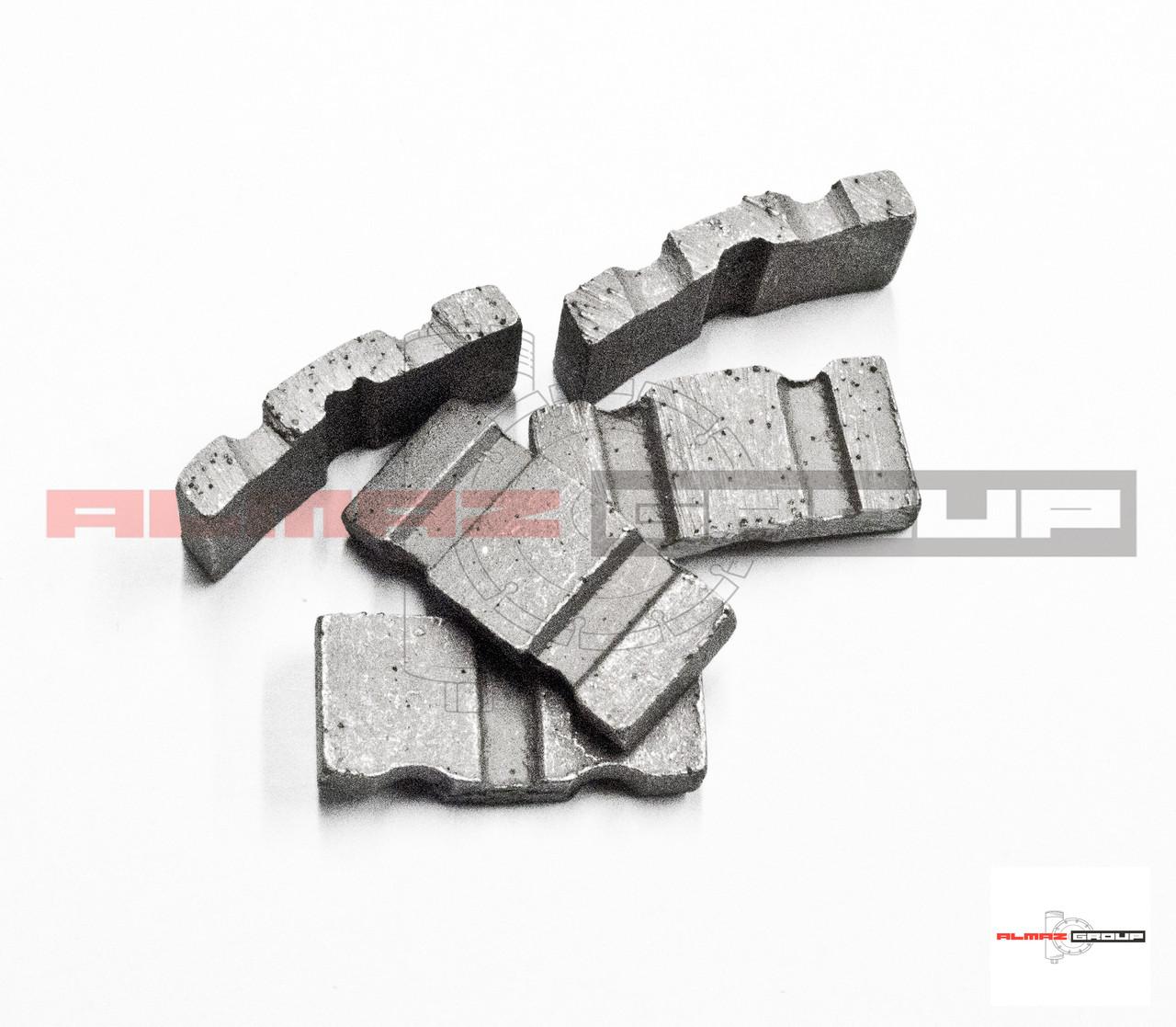Реставрация алмазных коронок Ø 250 методом напайки сегмента  TURBO-X