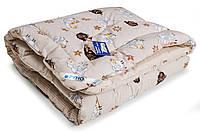 Одеяло детское Зимнее 140х105 см наполнитель шерсть РУНО (320.Барашка)