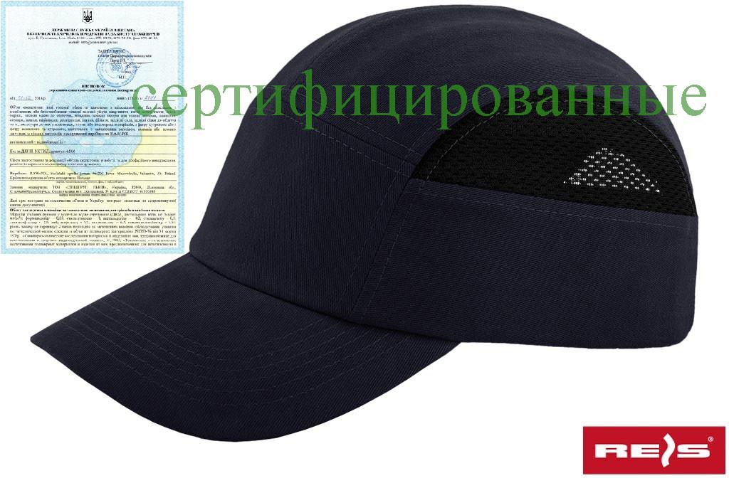 Каска-кепка (каскепка, каскетка) захисна промислова RAW-POL Польща BUMPCAPMESH G