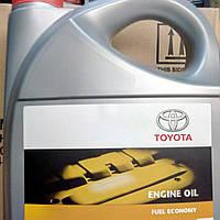 Оригинальное моторное синтетическое масло Toyota Fuel Economy 5w30 5l