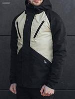 Куртка модная мужская весна/осень Staff V light black, фото 1