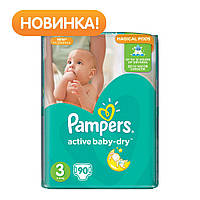 Подгузник Pampers Active Baby-Dry Midi (5-9 кг), 90шт (4015400736226)