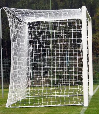 Футбольная сетка с шнура 3,5мм., ячейка 12см.,глубина 1,5м.