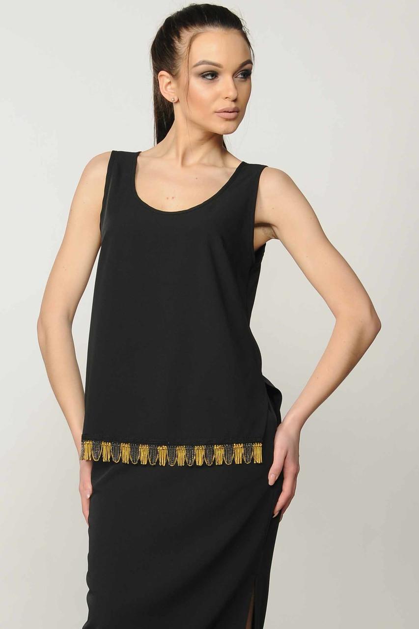 Блуза Джой цвет черный Ри Мари