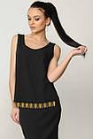 Блуза Джой цвет черный Ри Мари , фото 2