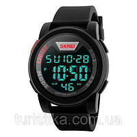 Часы водонепроницаемые спортивные Skmei Box Black DG1218
