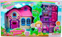 Кукольный набор Мой милый дом со светом и звуком Devilon