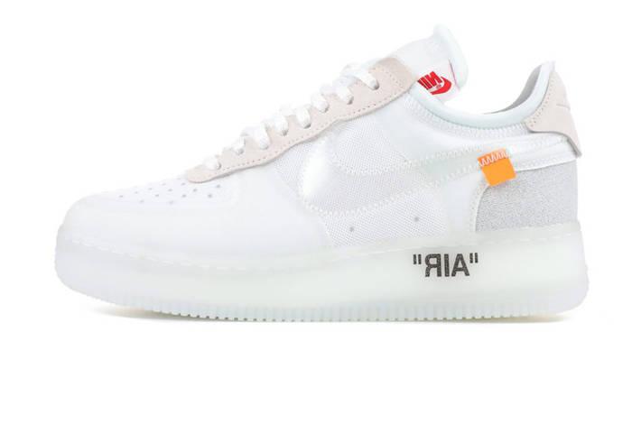 Женские кроссовки Off-White X Nike Air Force 1 Low - White (Реплика ... 94332c55fa0