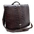 Кожаная мужская сумка Desisan, фото 3