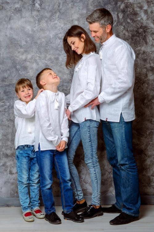 """FAMILY LOOK. Сімейна колекція """"Білосніжна"""""""