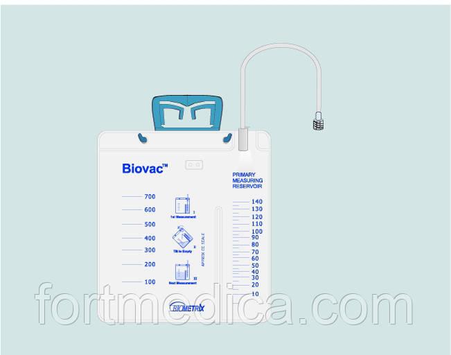 Cистема для дренирования ран Biovac дренаж Блейка