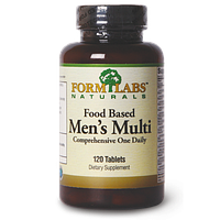 FORM LABS Naturals Food Based Men's Multi 120 tab.