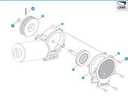 Електродвигун до автоматичних дверей  Corsa Came 119RIP118