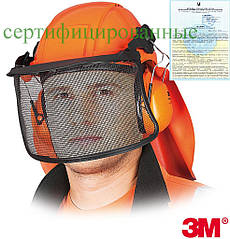 Защитный набор 3M (каска) для лесника 3M-KAS-FOREST