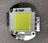 Светодиод матричный PREMIUM СОВ для прожектора SL-100 100W 6500К (45Х45 mil) Код.59199