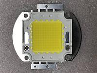 Светодиод матричный PREMIUM СОВ для прожектора SL-100 100W 4100К (45Х45 mil) Код.59198