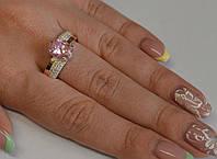 Серебряное кольцо с золотыми напайками, фото 1
