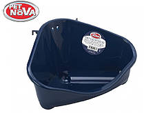 Угловой лоток Pet Nova средний ( синий )