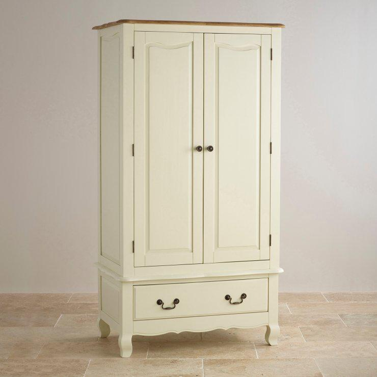 Белый шкаф из дерева Одесса