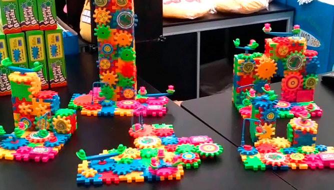 Детский развивающий конструктор Фани Брикс Funny Bricks